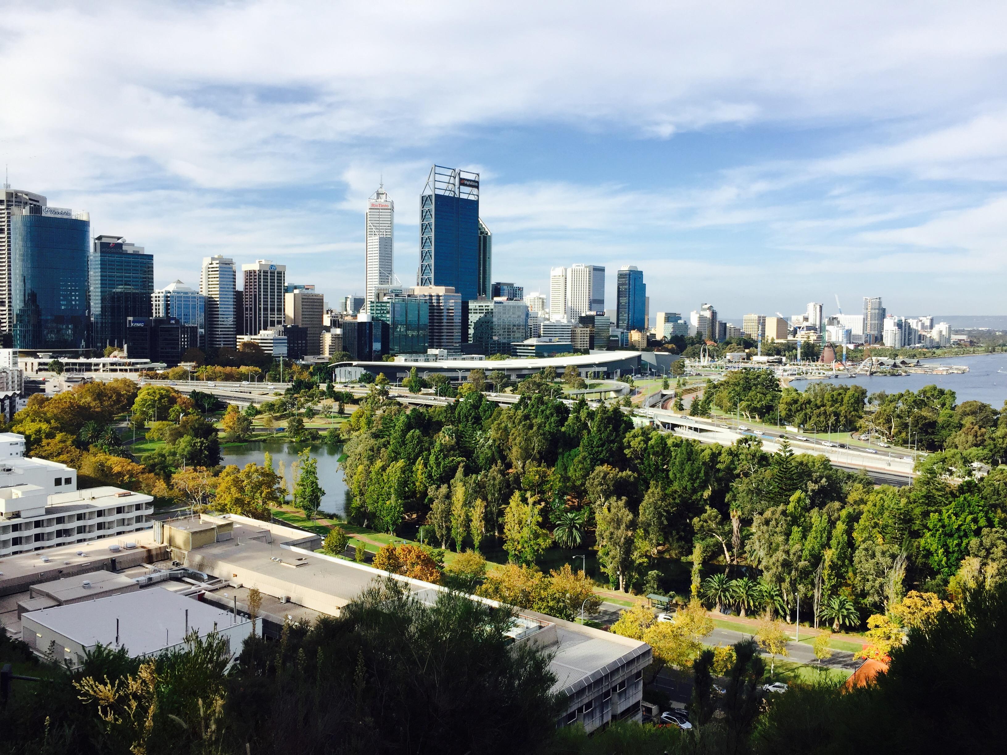 photo d'une ville intelligente, smart city