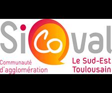 logo communauté d'agglomération sud-est Toulouse